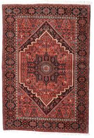 Gholtogh Vloerkleed 100X145 Echt Oosters Handgeknoopt Donkerrood/Beige (Wol, Perzië/Iran)