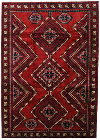 Lori Vloerkleed 219X308 Echt Oosters Handgeknoopt Donkerbruin/Rood (Wol, Perzië/Iran)