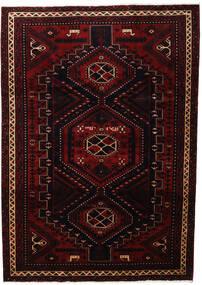 Lori Vloerkleed 219X307 Echt Oosters Handgeknoopt Donkerrood (Wol, Perzië/Iran)