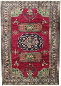 Ardebil Vloerkleed 200X281 Echt Oosters Handgeknoopt Donkerrood/Zwart (Wol, Perzië/Iran)