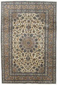 Kashmar Vloerkleed 197X292 Echt Oosters Handgeknoopt Donkergrijs/Lichtgrijs (Wol, Perzië/Iran)
