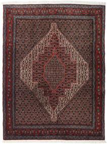 Senneh Vloerkleed 127X170 Echt Oosters Handgeknoopt Donkerbruin/Donkergrijs (Wol, Perzië/Iran)