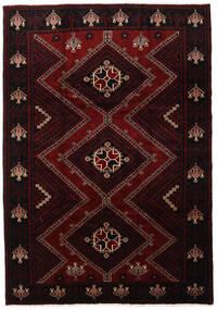 Lori Vloerkleed 217X307 Echt Oosters Handgeknoopt Donkerrood (Wol, Perzië/Iran)