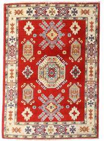 Kazak Vloerkleed 83X120 Echt Oosters Handgeknoopt Roestkleur/Beige (Wol, Afghanistan)