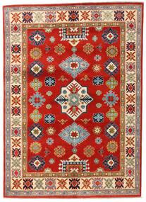 Kazak Vloerkleed 145X203 Echt Oosters Handgeknoopt Roestkleur/Lichtbruin (Wol, Afghanistan)