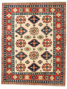 Kazak Vloerkleed 158X203 Echt Oosters Handgeknoopt Roestkleur/Donkerblauw (Wol, Afghanistan)