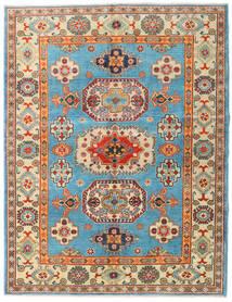 Kazak Vloerkleed 151X196 Echt Oosters Handgeknoopt Donkerbeige/Donkerbruin (Wol, Afghanistan)
