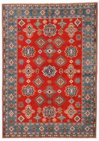 Kazak Vloerkleed 169X238 Echt Oosters Handgeknoopt Roestkleur/Lichtbruin (Wol, Afghanistan)
