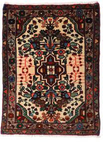 Asadabad Vloerkleed 60X81 Echt Oosters Handgeknoopt Zwart/Donkerbruin (Wol, Perzië/Iran)