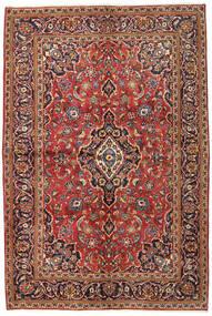 Sarough Sherkat Farsh Vloerkleed 134X215 Echt Oosters Handgeknoopt Donkerbruin/Donkerrood (Wol, Perzië/Iran)
