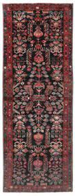 Aramnibaf Vloerkleed 175X473 Echt Oosters Handgeknoopt Tapijtloper Zwart/Donkerrood (Wol, Perzië/Iran)