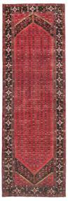 Enjelos Vloerkleed 165X512 Echt Oosters Handgeknoopt Tapijtloper Donkerrood/Donkergrijs (Wol, Perzië/Iran)