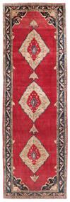 Koliai Vloerkleed 161X500 Echt Oosters Handgeknoopt Tapijtloper Rood/Donkerpaars (Wol, Perzië/Iran)