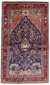 Sarough Sherkat Farsh Vloerkleed 130X211 Echt Oosters Handgeknoopt Donkerrood/Donkerpaars (Wol, Perzië/Iran)