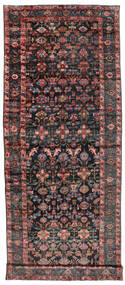 Sautchbulag 1920-1940 Vloerkleed 230X620 Echt Oosters Handgeknoopt Tapijtloper Zwart/Donkerrood (Wol, Perzië/Iran)