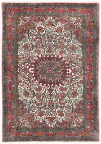 Bidjar Takab/Bukan Vloerkleed 113X153 Echt Oosters Handgeknoopt Donkergrijs/Donkerrood (Wol, Perzië/Iran)