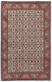 Bidjar Vloerkleed 110X173 Echt Oosters Handgeknoopt Donkerbruin/Donkerrood (Wol, Perzië/Iran)