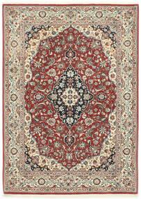 Ilam Sherkat Farsh Vloerkleed 106X146 Echt Oosters Handgeknoopt Donkerrood/Donkergrijs (Wol, Perzië/Iran)