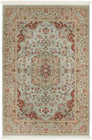 Ilam Sherkat Farsh Zijde Vloerkleed 110X168 Echt Oosters Handgeknoopt Lichtbruin/Lichtgrijs (Wol/Zijde, Perzië/Iran)