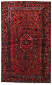 Hamadan Vloerkleed 127X209 Echt Oosters Handgeknoopt Donkerrood/Donkerbruin (Wol, Perzië/Iran)