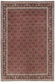 Bidjar Vloerkleed 206X298 Echt Oosters Handgeknoopt Donkerrood/Donkerbruin (Wol, Perzië/Iran)