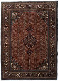 Ardebil Vloerkleed 207X288 Echt Oosters Handgeknoopt Donkerbruin/Donkerrood (Wol, Perzië/Iran)