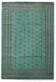 Pakistan Bokhara 2Ply Vloerkleed 187X276 Echt Oosters Handgeknoopt Turquoise Blauw/Donkergrijs (Wol, Pakistan)