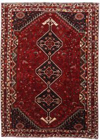 Ghashghai Vloerkleed 218X298 Echt Oosters Handgeknoopt Donkerrood (Wol, Perzië/Iran)