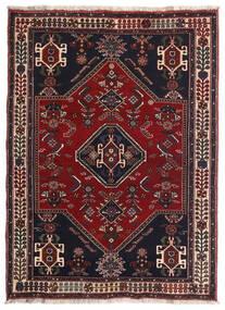 Ghashghai Vloerkleed 105X144 Echt Oosters Handgeknoopt Donkerrood/Bruin (Wol, Perzië/Iran)