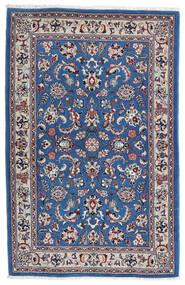 Kashmar Vloerkleed 105X160 Echt Oosters Handgeknoopt Lichtgrijs/Donkerblauw (Wol, Perzië/Iran)