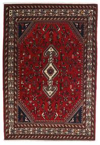 Ghashghai Vloerkleed 100X150 Echt Oosters Handgeknoopt Donkerrood/Donkerbruin (Wol, Perzië/Iran)