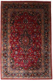 Mashad Vloerkleed 197X300 Echt Oosters Handgeknoopt Donkerrood (Wol, Perzië/Iran)