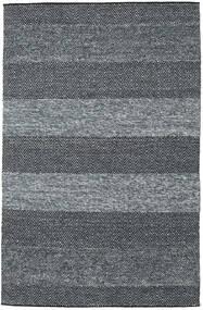 Folke - Secundair Vloerkleed 250X350 Echt Modern Handgeweven Donkergrijs/Blauw Groot (Wol, India)