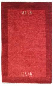 Loribaft Perzisch Vloerkleed 79X128 Echt Modern Handgeknoopt Rood/Roestkleur (Wol, Perzië/Iran)