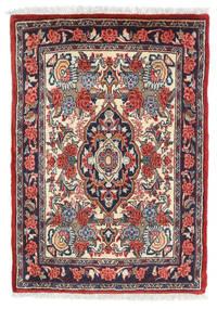 Sarough Vloerkleed 57X81 Echt Oosters Handgeknoopt Donkerrood/Donkergrijs (Wol, Perzië/Iran)