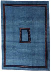 Loribaft Perzisch Vloerkleed 205X295 Echt Modern Handgeknoopt Donkerblauw/Blauw (Wol, Perzië/Iran)