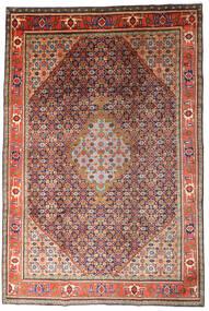 Ardebil Vloerkleed 215X320 Echt Oosters Handgeknoopt Donkerrood/Donkerpaars (Wol, Perzië/Iran)