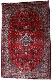 Hamadan Shahrbaf Vloerkleed 208X310 Echt Oosters Handgeknoopt Donkerrood/Rood (Wol, Perzië/Iran)
