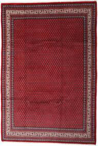 Sarough Mir Vloerkleed 212X310 Echt Oosters Handgeknoopt Donkerrood/Rood (Wol, Perzië/Iran)