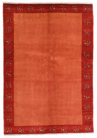 Loribaft Perzisch Vloerkleed 139X202 Echt Modern Handgeknoopt Roestkleur/Rood/Oranje (Wol, Perzië/Iran)
