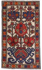 Kelim Golbarjasta Vloerkleed 80X135 Echt Oosters Handgeweven Zwart/Donkerrood (Wol, Afghanistan)