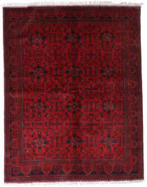 Afghan Khal Mohammadi Vloerkleed 174X220 Echt Oosters Handgeknoopt Donkerrood/Rood (Wol, Afghanistan)