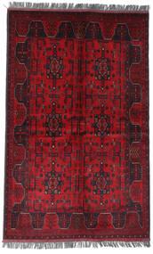 Afghan Khal Mohammadi Vloerkleed 122X194 Echt Oosters Handgeknoopt Donkerrood/Rood (Wol, Afghanistan)