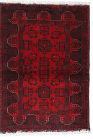 Afghan Khal Mohammadi Vloerkleed 102X140 Echt Oosters Handgeknoopt Donkerrood/Donkerbruin/Rood (Wol, Afghanistan)