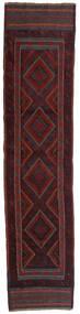 Kelim Golbarjasta Vloerkleed 58X247 Echt Oosters Handgeweven Tapijtloper Donkerrood (Wol, Afghanistan)
