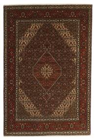 Tabriz 40 Raj Vloerkleed 196X301 Echt Oosters Handgeknoopt Donkerbruin/Bruin (Wol/Zijde, Perzië/Iran)
