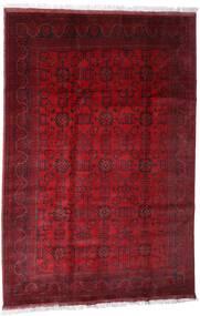 Afghan Khal Mohammadi Vloerkleed 203X301 Echt Oosters Handgeknoopt Donkerrood/Rood (Wol, Afghanistan)