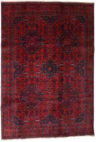 Afghan Khal Mohammadi Vloerkleed 199X289 Echt Oosters Handgeknoopt Donkerrood (Wol, Afghanistan)