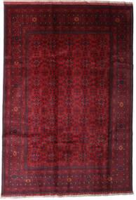 Afghan Khal Mohammadi Vloerkleed 197X289 Echt Oosters Handgeknoopt Donkerrood (Wol, Afghanistan)