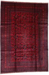 Afghan Khal Mohammadi Vloerkleed 201X288 Echt Oosters Handgeknoopt Donkerrood (Wol, Afghanistan)